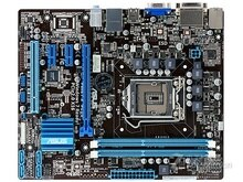 Kostenloser versand original motherboard für ASUS P8H61-M PLUS DDR3 LGA 1155 USB2.0 boards 16GB H61 Desktop mother