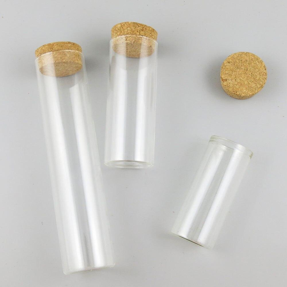 360x80 مللي 120 مللي 160 مللي واضح الزجاج أنابيب مع الخشب الفلين أكبر الزجاج قوارير متمنيا زجاجة محظوظ زجاجة الحلوى حبة تخزين أنبوب