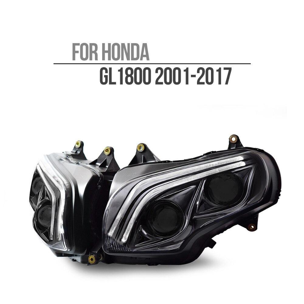 KT LED Headlight for Honda Goldwing GL1800 2001-2017 V2