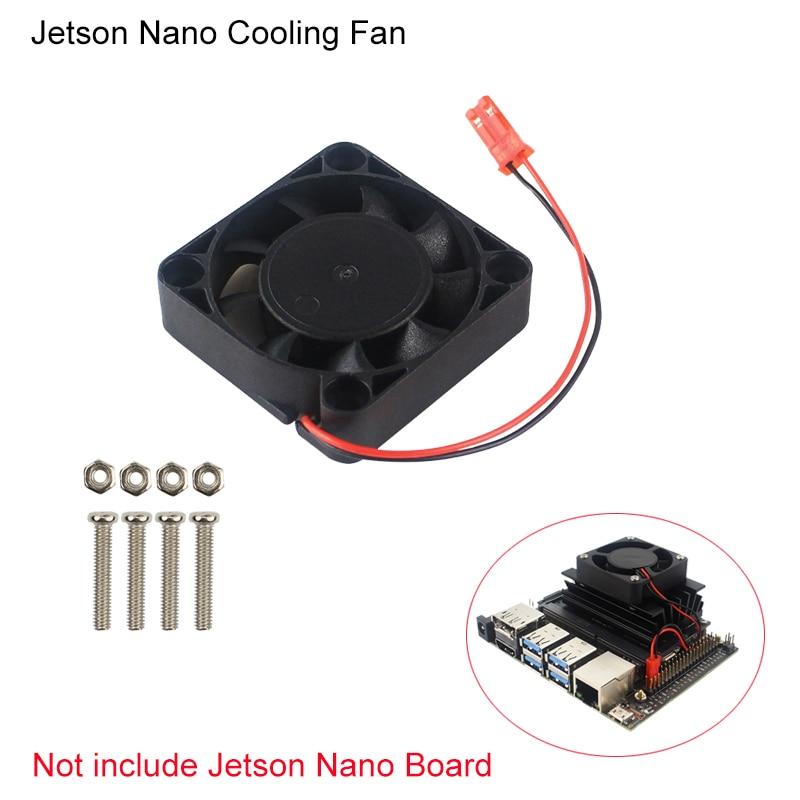 Cooling Fan for NVIDIA Jetson Nano Developer Kit Quiet CPU Cooler Radiator