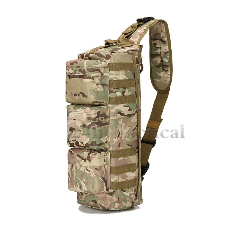 Multifunción táctico asalto MOLLE mochila aérea Camo bolso de hombro grande para deportes al aire libre viaje Camping caza ciclismo