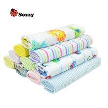 Serviette de bain Sozzy pour bébés enfants   Lot de serviettes douces pour bébés tout-petits, serviette de toilette pour enfant en bas âge, lot de 8