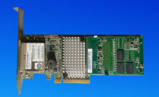 ServeRAID M5120 SAS/controlador SATA 81Y4479 usado 8 puertos SFF8088 PCI-E 3,0X8 Tarjeta de controlador 6 Gb/s