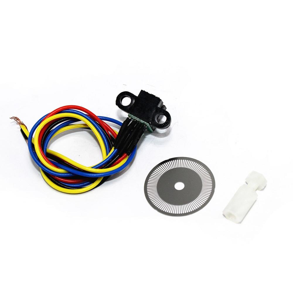 Дешевый Оптический энкодер, набор из 2 штук