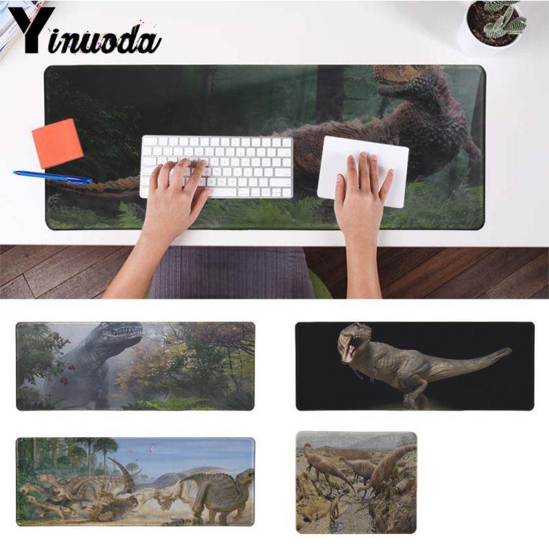 Bonita alfombrilla para ordenador portátil de dinosaurio de Anime Yinuoda, tamaño de 180x220, 200x250, 250x290, 300x900 y 400x900x2mm