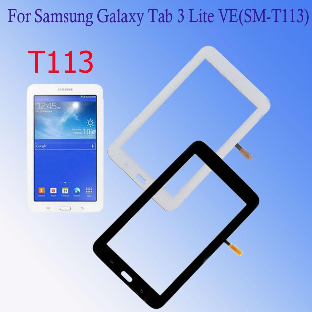 Para Samsung Galaxy Tab 3 Lite 7,0 SM- T110 T111 T113 T116 T114 pantalla táctil pantalla digitalizador de vidrio Panel lente