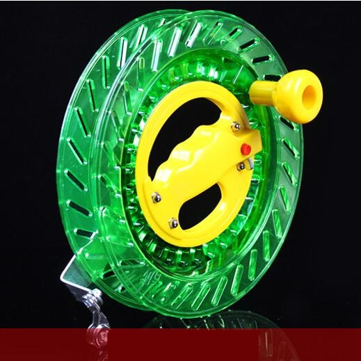 new-outdoor-fun-sports-flying-tools-kite-accessories-20-22-26-28cm-abs-green-kite-wheel-handle-factory-direct