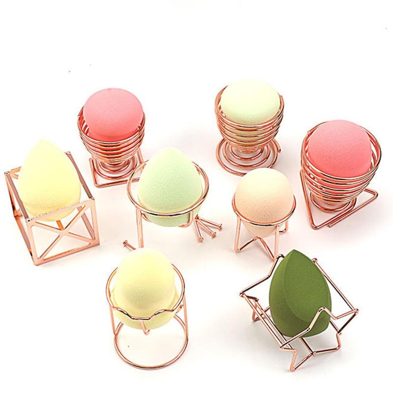 Rack Sponge Drying Stand Holder  Mini Makeup Puff Rack Drying Hanger Beauty Makeup Powder Puff Blender Storage