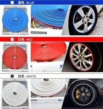 8 м Автомобильная ступица колеса наклейка для защиты шин для opel astra g audi a4 b7 seat altea seat ibiza 6l hyundai i30 ford kuga vw t5