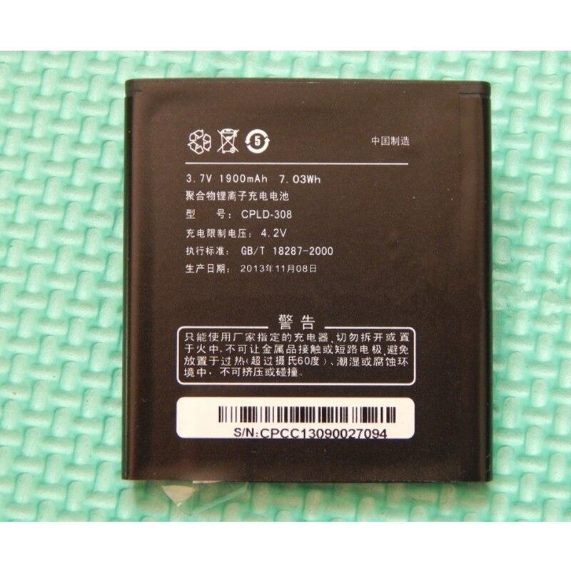 Corrida Venda Estoque Limitado Varejo 1900 mAh CPLD-308 Nova Substituição Bateria Para Coolpad 8085 8702 8085Q/N Alta Qualidade