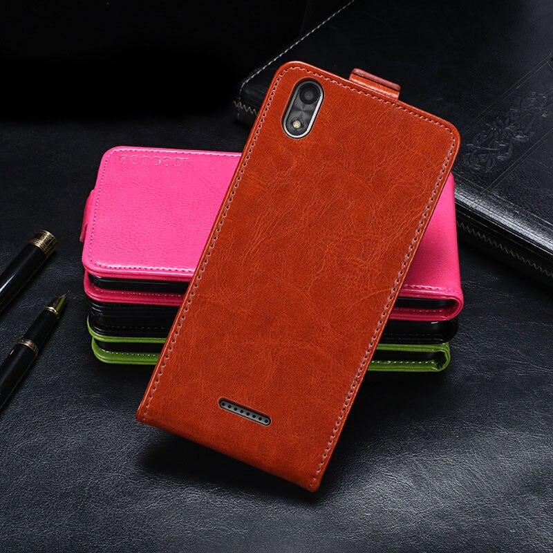 Caso para bq 5591 caso capa de couro da aleta caso protetor para bq móvel bq 5591 jeans capa caso telefone negócios