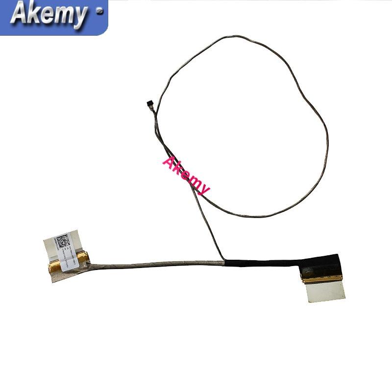 Tela de vídeo flex para asus x453sa x453s x403s 30 pinos portátil lcd led lvds display cabo de fita 14005-01250600 ddxk1blc3000