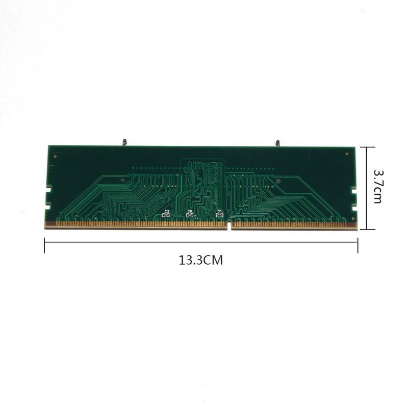 Profesional DDR3 portátil SO-DIMM escritorio DIMM memoria RAM conector DDR3 adaptador de portátil de memoria interna para escritorio RAM