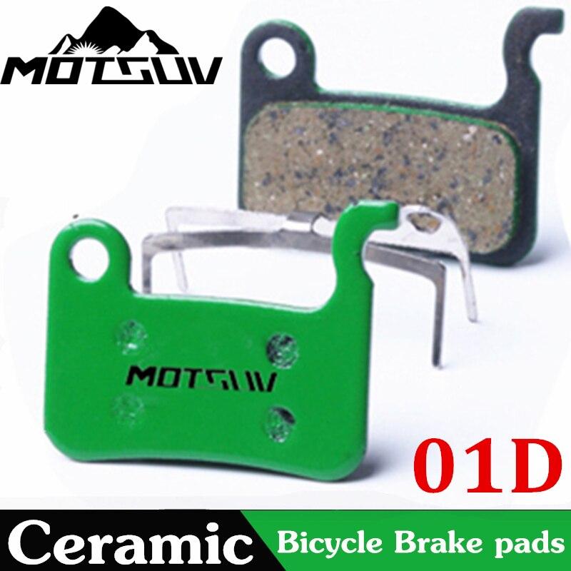 MOTSUV Bicycle Ceramics Disc Brake Pads for Shimano XTP/SAINT/DEORE XT/DEORE LX/HONE/DEORE/SLX M596 M615 M775 Deore Bike Parts