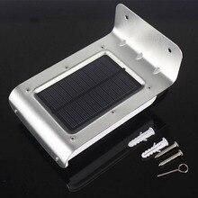 16 LED Solar Power Motion Sensor Garden Yard Security Lamp Wireless Waterproof Outdoor Lighting Lamp 120 Degrees Sensing Angle