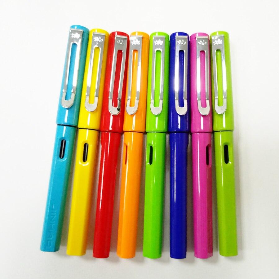 Schule Liefert Jinhao 599A Hohe Qualität ABS Gel Stift Mode Kawaii Gras Grün Rollerball Stift Kugelschreiber für Schüler