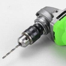 Support de mandrin de perceuse à clé 10mm avec clé et adaptateur accessoires de perceuse électrique M10 * 1.5