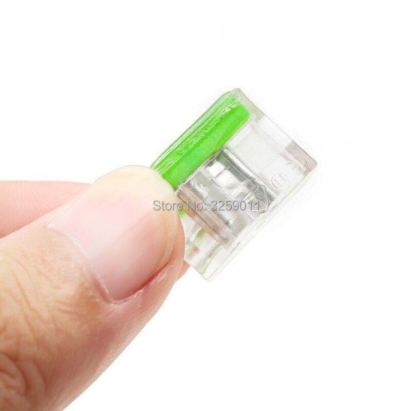 (500 أجزاء/وحدة) سريعة سلك موصل 3 دبوس كابل محطة كتلة موصل PC-253 PC253-CL PC253X-CL شفافة 22-12 AWG الأخضر