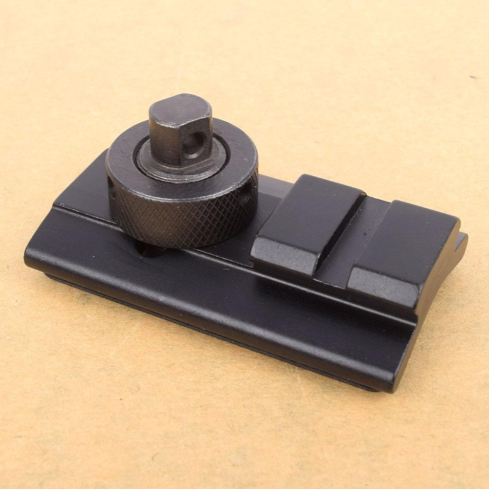 Paintball Rifle Hunting Shooting Bipod Weaver Rail Swivel Stud Picatinny Slot Adaptor 21.2mm Bipod Adapter Mount