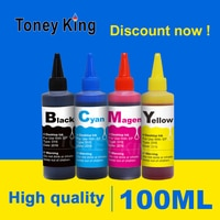 Toney King 100ml Printer Dye Refill Ink Kit For Canon PG 540 CL 541 Ink Cartridge Pixma MG2100 MG2140 MG2150 MG2240 MG2250 print