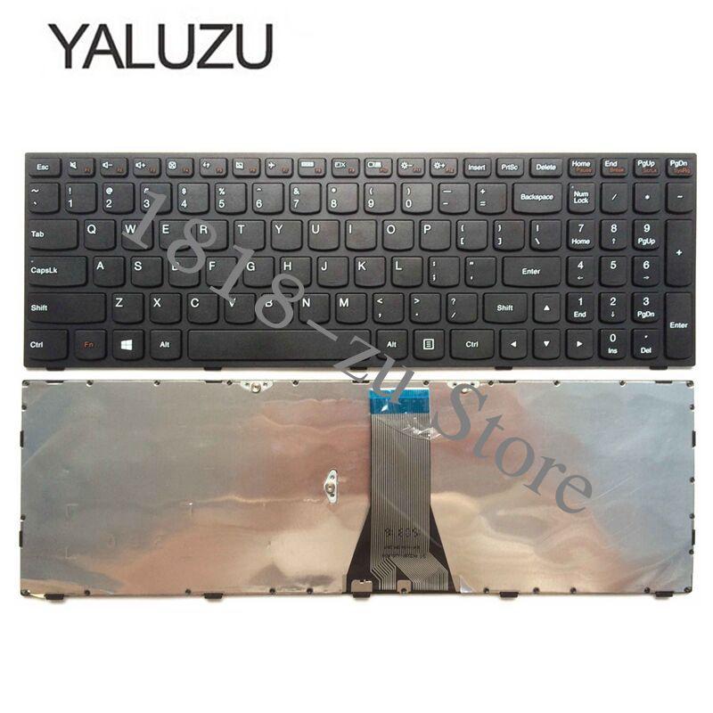 YALUZU Новая Клавиатура США для LENOVO B50 30 40 70 B50-30 B50-45 B50-70 Z50-70 T6G1 G50 US клавиатура для ноутбука