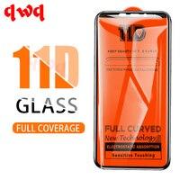 Закаленное стекло 11D с полным покрытием, Защита экрана для Huawei P10 Lite, P Smart 2019, 2018 HD, пленка для Huawei Mate 20, P30, P20 Lite Pro