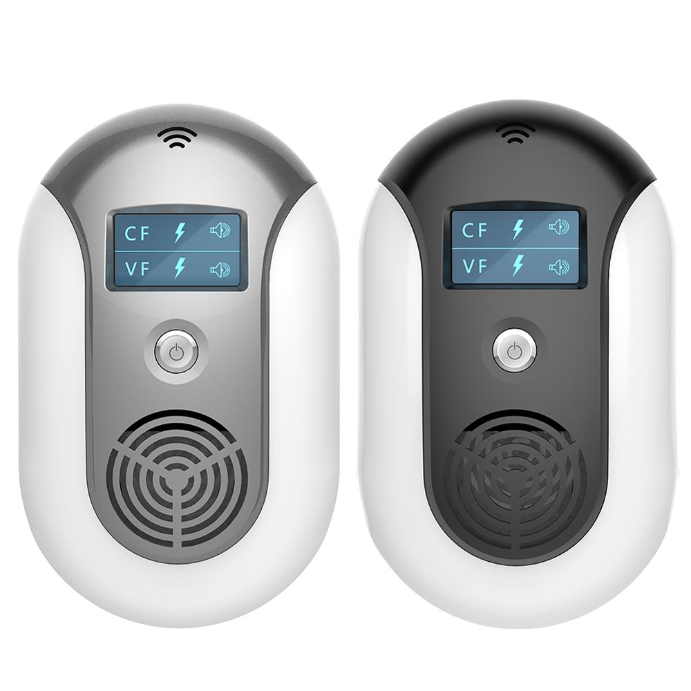 Electronic Pest Control Ultrasonic Pest Repeller Home Anti Mosquito Repellent Killer Rodent Bug Reje