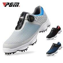 2019 neue PGM Golf Schuhe herren Wasserdicht Atmungsaktiv Gleitschutz Golf Schuhe Männlichen Rotierenden Schnürsenkel Sport Versetzt Training Turnschuhe