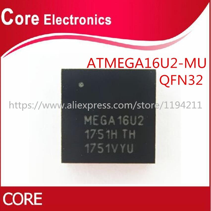 10 unids/lote ATMEGA16U2-MU ATMEGA16U2 QFN-32 IC