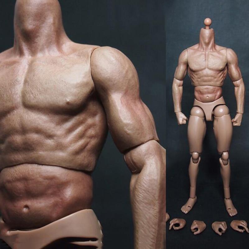 مجسم حركة عسكري للرجال والأولاد ، ألعاب تمثال الصدر ، العضلات ، تشبه TTM19 لـ 12