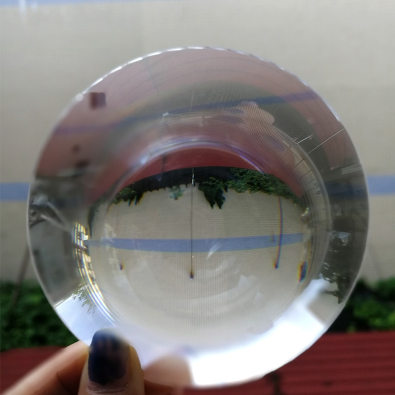 Diameter 180mm Large Optical PMMA Plastic Big Solar Fresnel Lens Focal  Solar Concentrator Large Magnifying Glass