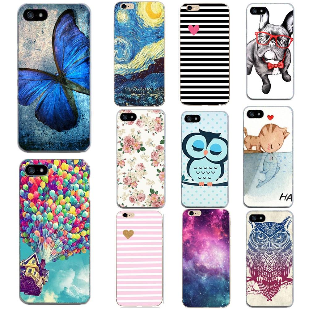 Funda para iPhone 5S 5 SE 6 6s flor Tigre animales suave TPU silicona fundas de teléfono para iPhone XS X 10 7 8 Plus accesorios de cubierta