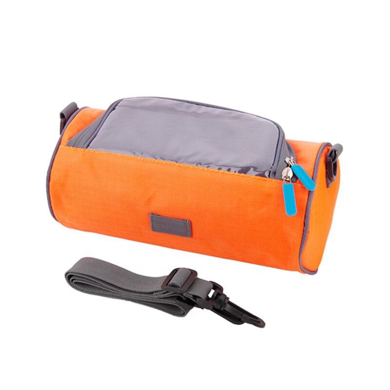Nueva bolsa impermeable para bicicleta de montaña, funda para teléfono con pantalla táctil, bolsa frontal para manillar de bicicleta, bolsas YA88