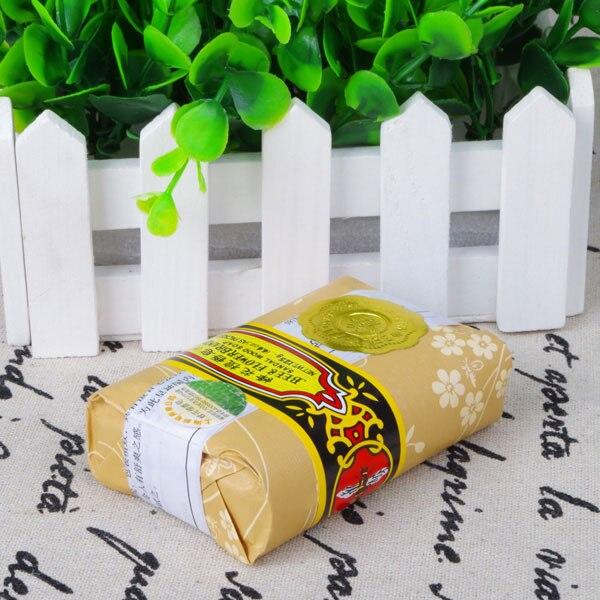 Jabón pequeño de 25g con diseño de flor de sándalo para eliminar los ácaros del baño, paquete de viaje para jabones de tocador MH88