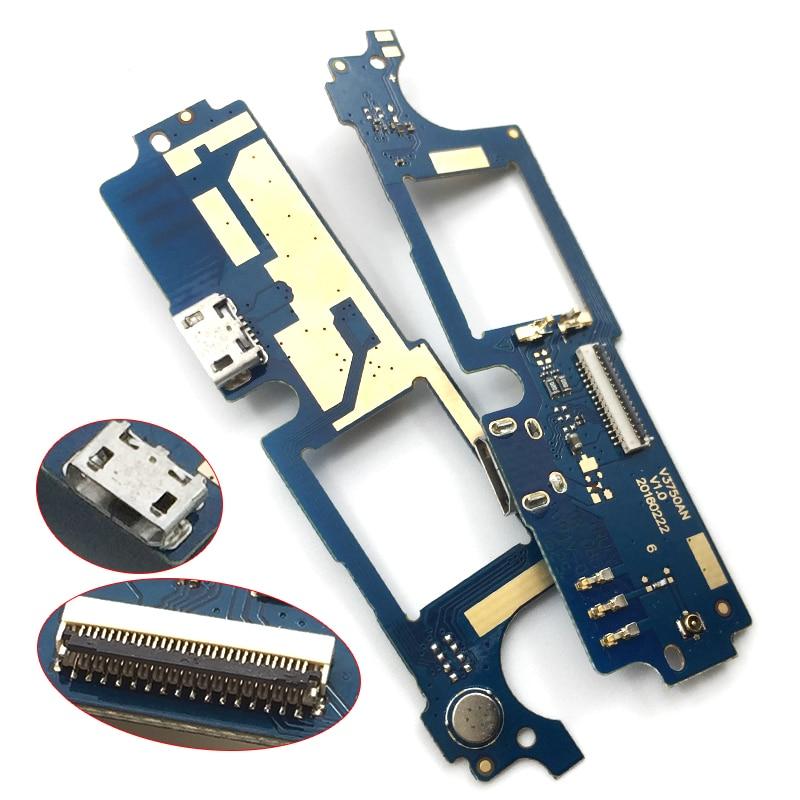 Nuevo para Wiko Robby Dock Connector Cargador Micro USB puerto de carga tablero de Cable flexible con piezas de repuesto de micrófono