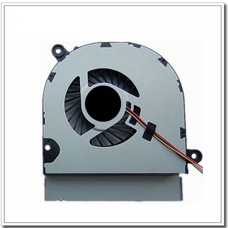 Nueva computadora portátil cpu ventilador de refrigeración para Asus X450V X550C X550V X450C A450C K552V A550V Y481C A550 K550VC
