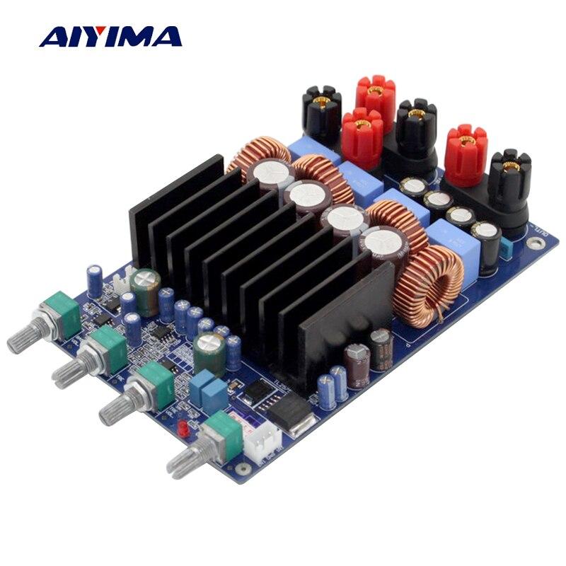 AIYIMA TAS5630 amplificador de potencia tarjeta de Audio 150WX2 + 300W 2,1 Clase D OPA1632DR TL072 altavoz amplificador de sonido Digital Home Theater