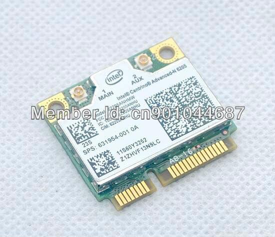 62205ANHMW 60Y3253 para Lenovo Thinkpad X220 X220i T420 T520s t520 t520i w520 x100e x120e L420 L421 tarjeta inalámbrica INTEL 6205 PCIE