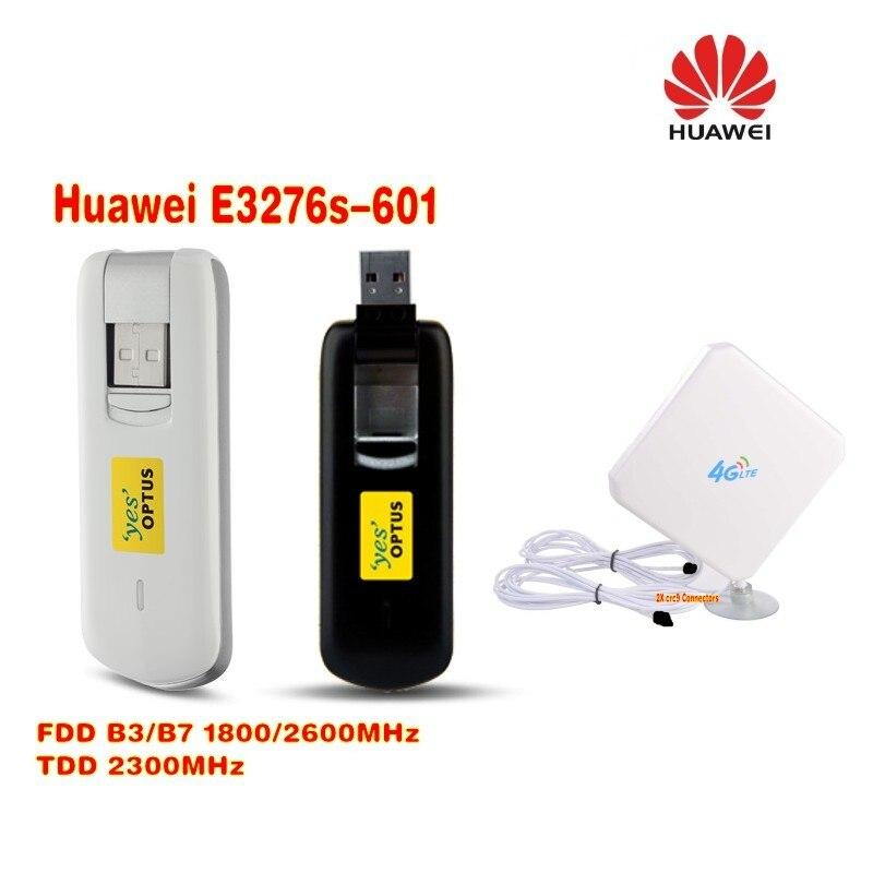 الأصلي مقفلة هواوي E3276 E3276s E3276s-601 150Mbps 4G LTE USB مودم دونغل + 4G 35dbi هوائي