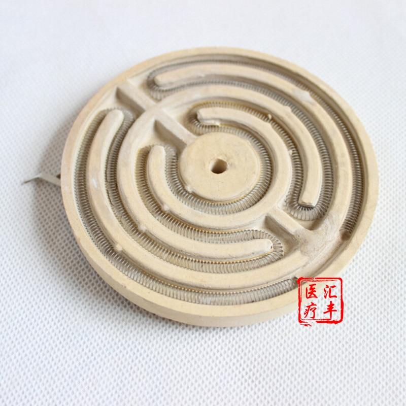 2 stücke f 9,6 cm Ming Xinfeng haushalt physiotherapie instrument zubehör TDP lampe heizung disc elektromagnetische behandlung gerät