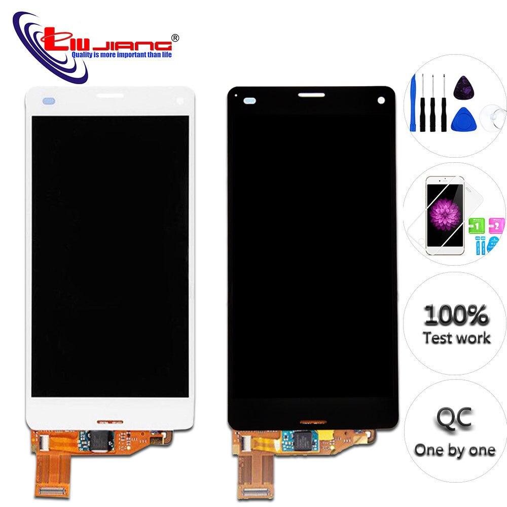 Nueva pantalla táctil LCD Original para SONY Xperia Z3 Compact Z3 MINI D5803 D5833, repuesto para SONY XPERIA Z3 Compact LCD