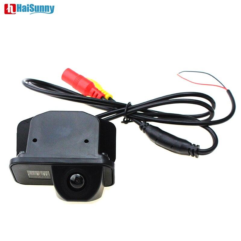 Cámara de visión trasera de coche reversa para cámara de visión nocturna impermeable HD para coche 2007/2009/2010/ 2011/2012/2013 TOYOTA COROLLA/VIOS