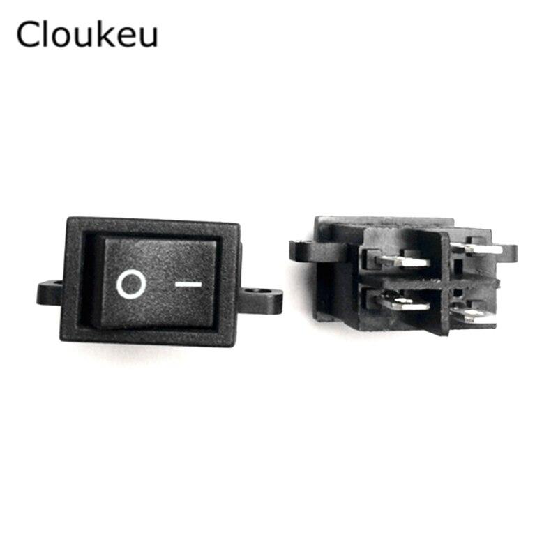 5 piezas KCD1-104 LCD TV interruptor RS601D interruptor basculante