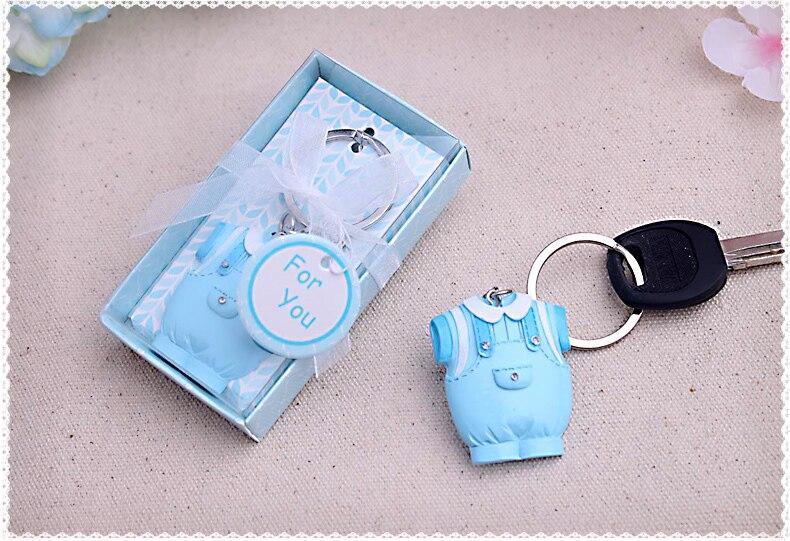 Babypartybevorzugung geschenk und werbegeschenke für gast-Baby Keychain geburtstag hochzeit taufe geschenk souvenir 20 teile/los
