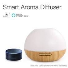 GX. Diffusor Amazon WIFI APP Ultraschall-luftbefeuchter 300ML Aromatherapie Diffusor Alexa Aroma Diffusor LED Öl Diffusor Nebel Maker
