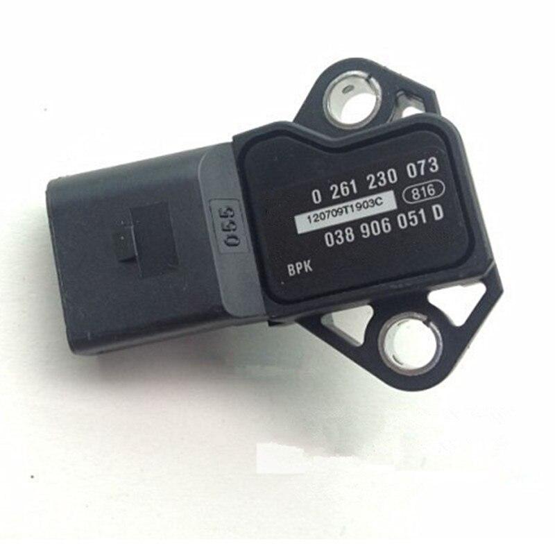 Sensor de pressão da engrenagem do sem-fim do turbo do sensor de pressão da turbina para o golf gti mk5 mk6 passat cc eos audi a3 a4 a6 tt 038 906 051 d