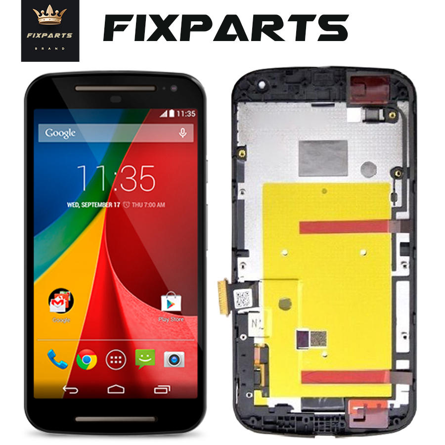 Para Motorola Moto G3 G 3rd Gen XT1544 XT1550 XT1540 XT1541 XT1543 pantalla LCD de pantalla táctil digitalizador asamblea para Moto G 2nd G2