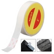 Bande adhésive Super transparente Double face 1 rouleau   1 rouleau, 3 Yards, bandes adhésives solides pour Extension de cheveux, toupet 1 pièce