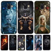 Game of Throne marvel DIY Luxury For Samsung Galaxy A9 A8 A7 A6 A5 A3 J3 J4 J5 J6 J8 Plus 2017 2018 phone Case Cover Coque Etui