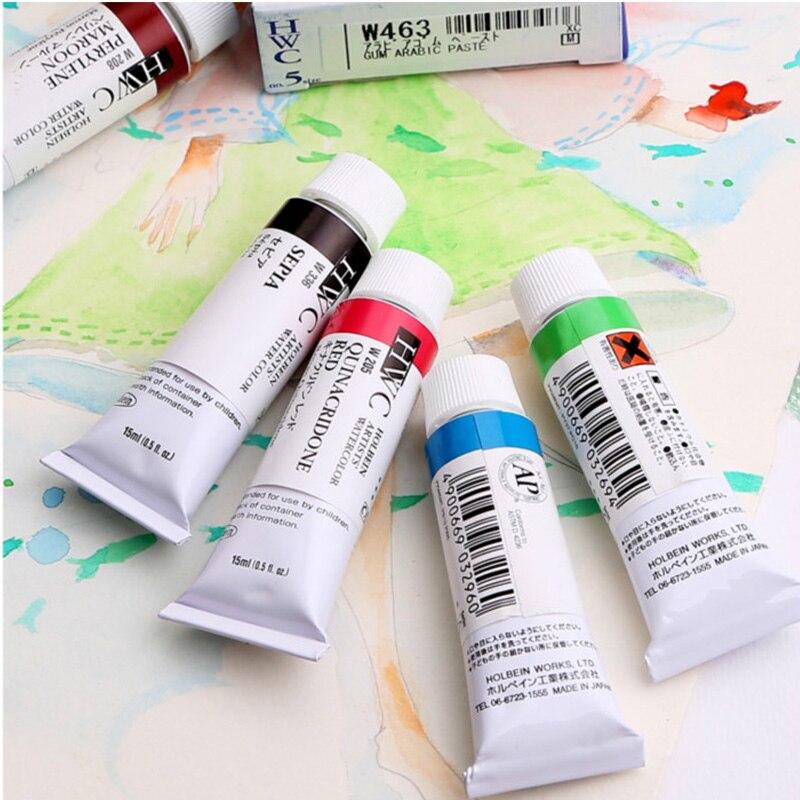 Holbein Hype Japón pigmento acuarela Set una serie (1) Hwc 15ml única rama